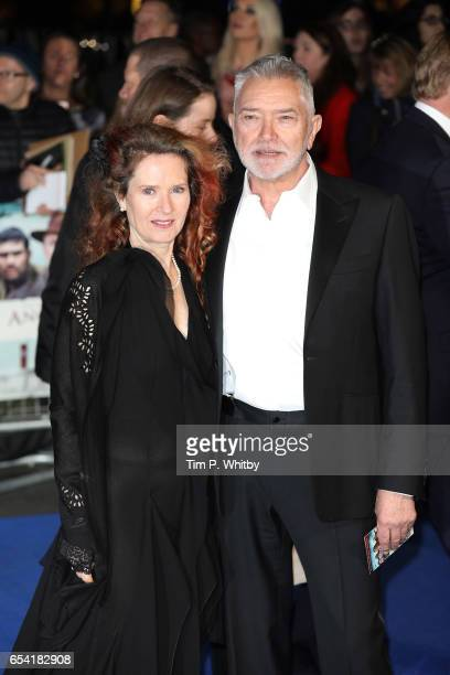 Karen De Silva and Martin Shaw attend the World Premiere of Another Mother's Son on March 16 2017 at Odeon Leicester Sqaure in London England