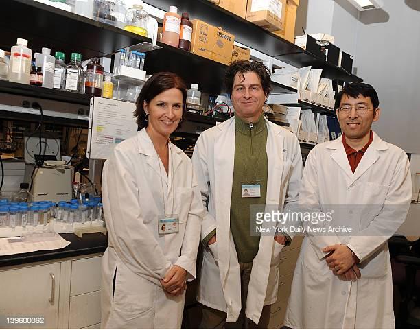Karen Duff Phd Dr Scott Small and Li Liu lead researchers who made exciting new Alzheimer's breakthru announced this week Columbia University...