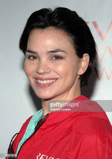 Karen Duffy during 10th Annual Entertainment Industry Foundation's Revlon Run/Walk For Women in New York at Times Square and ends at the East Meadow...