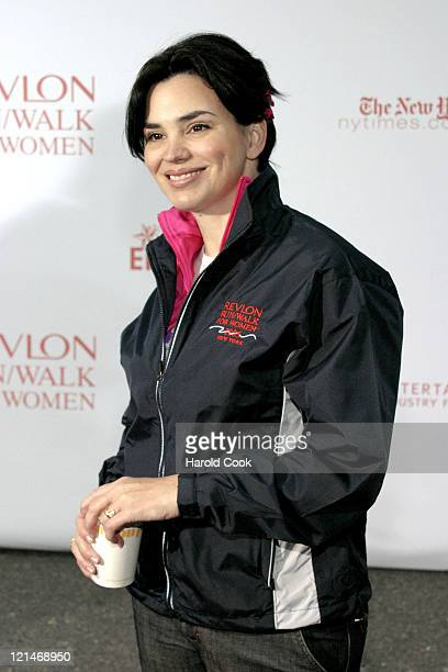 Karen Duffy during 8th Annual REVLON Run/Walk for Women at Times Square in New York City, New York, United States.