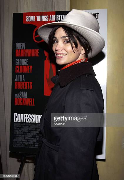 """Karen Duffy during """"Confessions of A Dangerous Mind"""" - New York Premiere - After-Party at The W Hotel in New York City, New York, United States."""