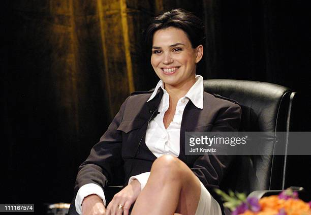 Karen Duffy during CourtTV TCA at Hollywood Renaissance Hotel in Hollywood, California, United States.