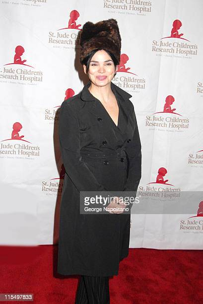Karen Duffy during Design Cares - An Evening of Enchantment Benefitting St. Jude Children's Research Hospital - Arrivals at Puck Building in New York...