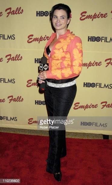 """Karen Duffy during HBO Films """"Empire Falls"""" New York City Premiere at Metropolitan Museum of Art in New York City, New York, United States."""