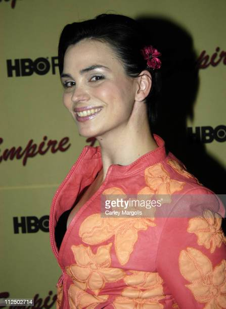 """Karen Duffy during HBO Films """"Empire Falls"""" New York Premiere at The Metropolitan Museum of Art in New York City, New York, United States."""