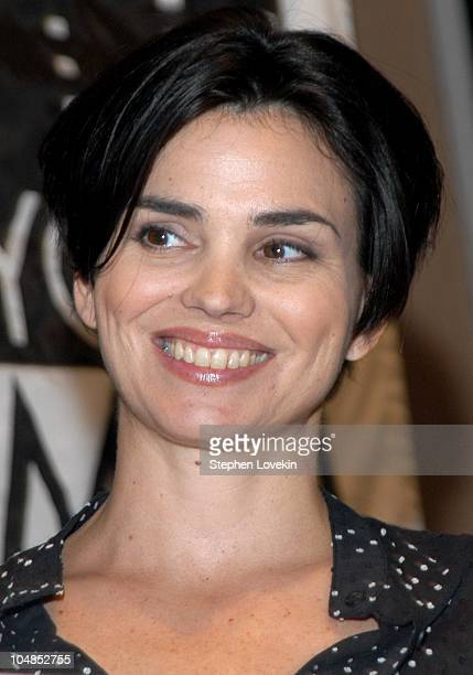 Karen Duffy during New York Women in Film and Television Fourth Annual Designing Hollywood Gala at Sotheby's in New York City, NY, United States.