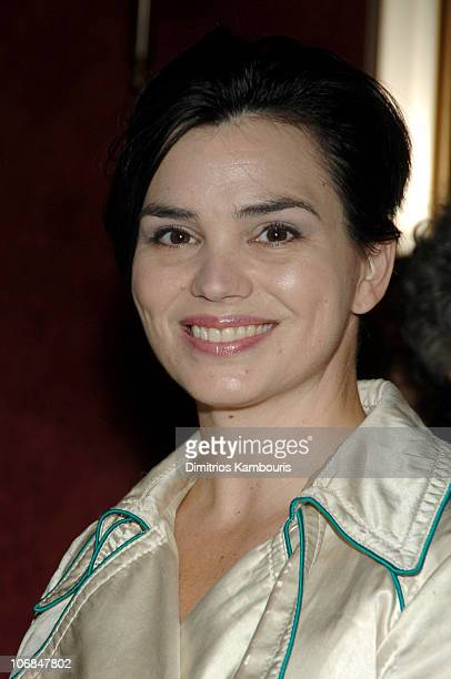 """Karen Duffy during Warner Bros.' """"Harry Potter and the Goblet of Fire"""" New York City Premiere - Inside Arrivals at Ziegfeld Theatre in New York City,..."""