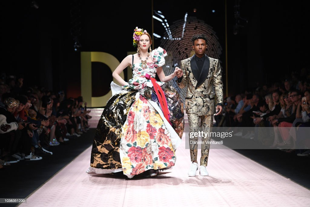 Dolce & Gabbana - Runway - Milan Fashion Week Spring/Summer 2019 : News Photo
