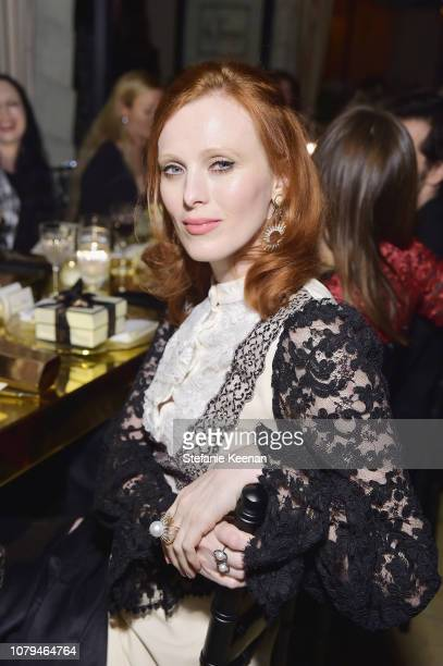 Karen Elson attends Jo Malone London Celebrates Karen Elson's Birthstones by Duffy at Sunset Tower Hotel on January 8 2019 in West Hollywood...