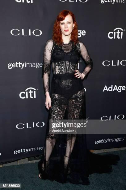 Karen Elson attends the 2017 Clio Awards at Lincoln Center on September 27 2017 in New York City