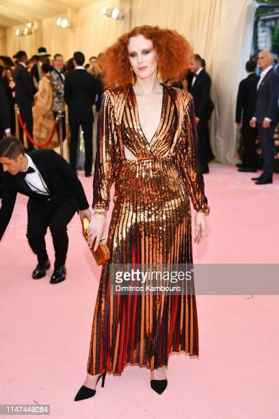 Karen Elson attends The 2019 Met Gala Celebrating Camp Notes on Fashion at Metropolitan Museum of Art on May 06 2019 in New York City