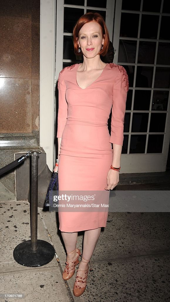 Karen Elson is seen on June 19, 2013 in New York City.