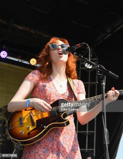 Karen Elson performs at Pilgrimage Music Cultural Festival on September 24 2017 in Franklin Tennessee