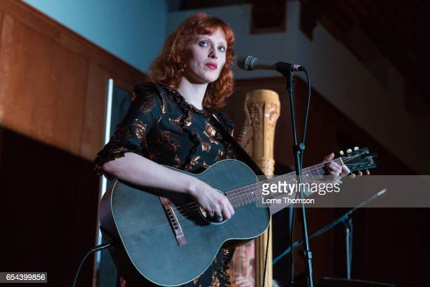 Karen Elson performs at St David's Bethell Hall on March 16 2017 in Austin Texas