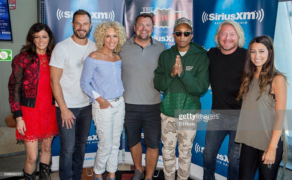 TN: Little Big Town Visits SiriusXM Nashville