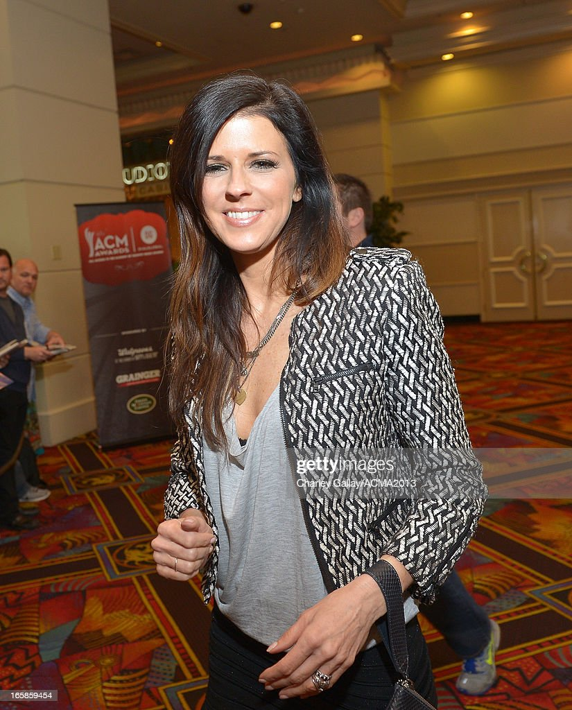 Karen Fairchild of music group Little Big Town attends the Dial Global Radio Remotes during the 48th Annual Academy of Country Music Awards at MGM Grand Garden Arena on April 6, 2013 in Las Vegas, Nevada.