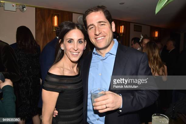 Karen Fine and Jeff Fine attend Billy Macklowe's 50th Birthday Spectacular at Chinese Tuxedo on April 21 2018 in New York City