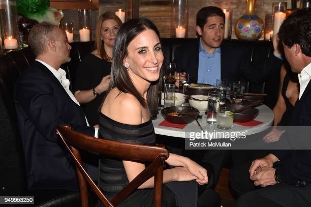 Karen Fine attends Billy Macklowe's 50th Birthday Spectacular at Chinese Tuxedo on April 21 2018 in New York City
