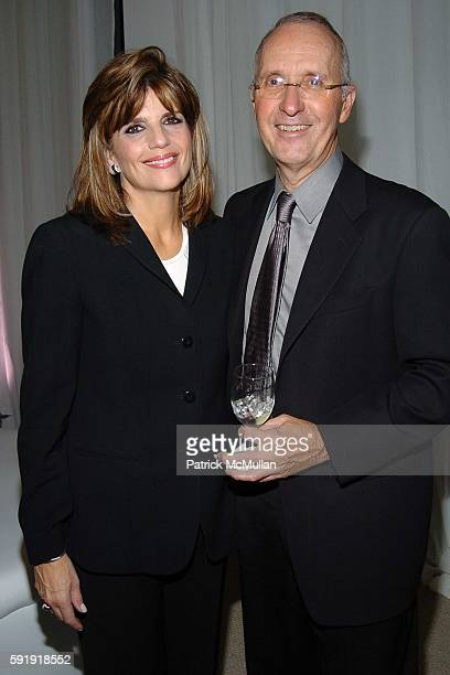 Karen Fondu and Joe Campinell attend Maybelline New York Beauty Studio Launch Party at Maybelline New York Beauty Studio on October 26 2005 in New...