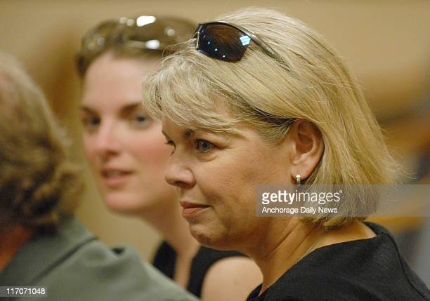 Karen Foster, right, mother of Bonnie Craig, was accompanied by her daughter Samantha Bancroft, left, who was just 12 when Bonnie was killed, as they...