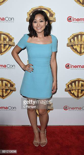 Karen Fukuhara attends CinemaCon 2016 Warner Bros. Pictures Invites You to The Big Picture, an Exclusive Presentation Highlighting the Summer of 2016...