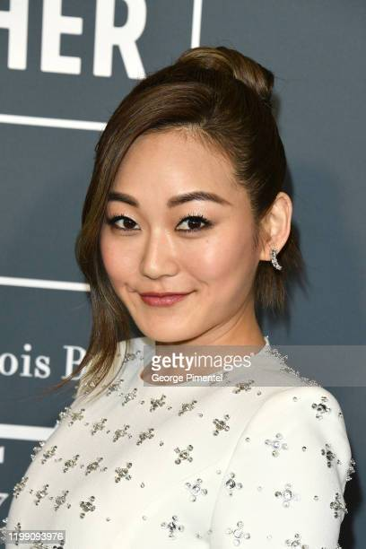 Karen Fukuhara attends the 25th Annual Critics' Choice Awards held at Barker Hangar on January 12, 2020 in Santa Monica, California.