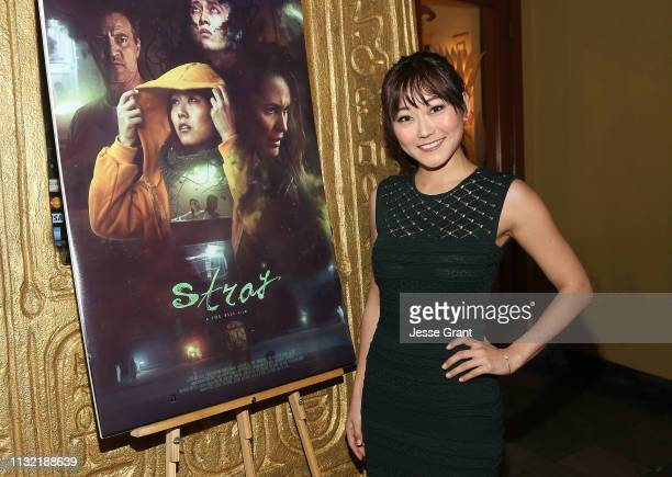 Karen Fukuhara attends the Stray World Premiere on February 25 2019 in Los Angeles California