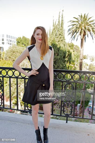 Karen Gillan at the 'Guardians of the Galaxy Vol 2' Press Conference at the London Hotel on April 20 2017 in West Hollywood California