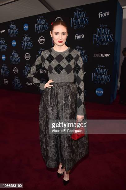 Karen Gillan attends Disney's 'Mary Poppins Returns' World Premiere at the Dolby Theatre on November 29 2018 in Hollywood California