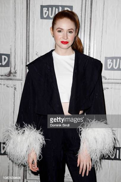 Karen Gillan attends the Build Series to discuss 'The Party's Just Beginning' at Build Studio on December 14 2018 in New York City