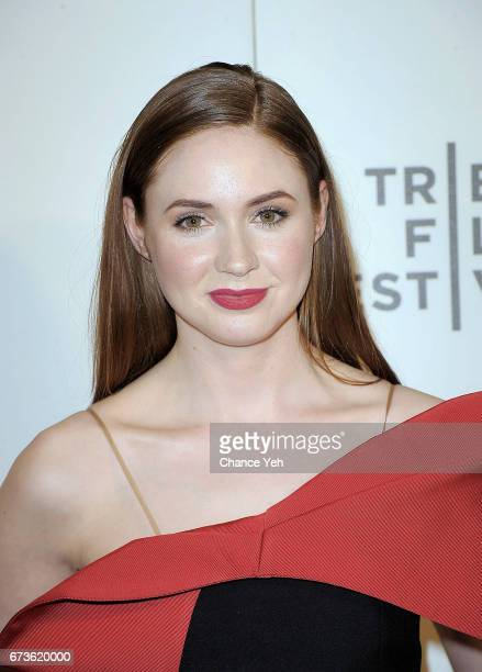 Karen Gillan attends 'The Circle' screening during the 2017 Tribeca Film Festival at BMCC Tribeca PAC on April 26 2017 in New York City