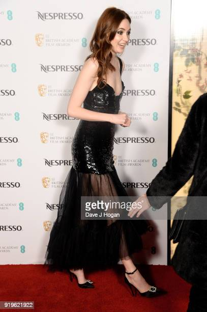 Karen Gillan attends the EE British Academy Film Awards nominees party at Kensington Palace on February 17 2018 in London England