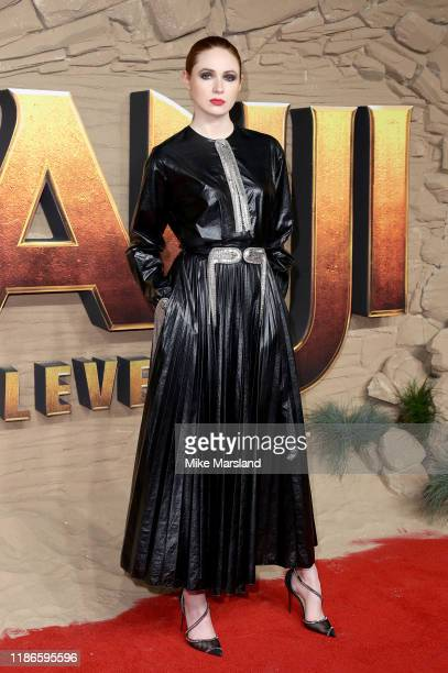 Karen Gillan attends the Jumanji The Next Level UK Film Premiere at BFI Southbank on December 5 2019 in London England