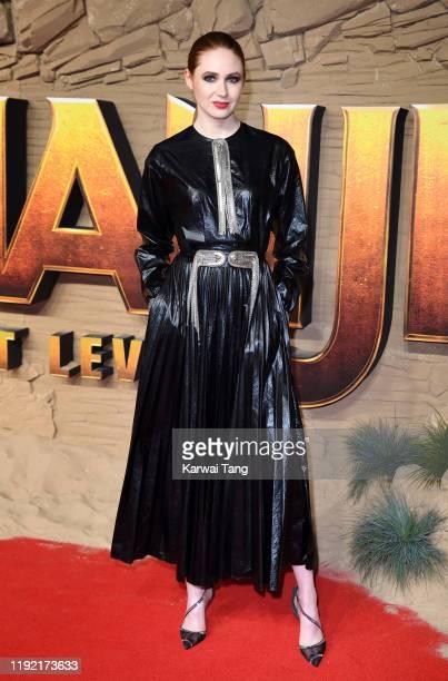 Karen Gillan attends the Jumanji The Next Level UK Film Premiere at BFI Southbank on December 05 2019 in London England