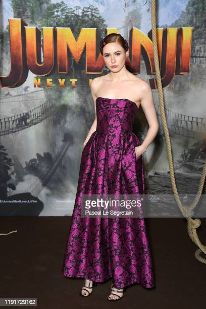 Karen Gillan attends the photocall of Jumanji Next Level film at le Grand Rex on December 03 2019 in Paris France