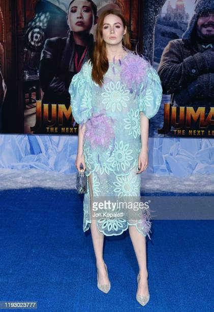 Karen Gillan attends the premiere of Sony Pictures' Jumanji The Next Level on December 09 2019 in Hollywood California