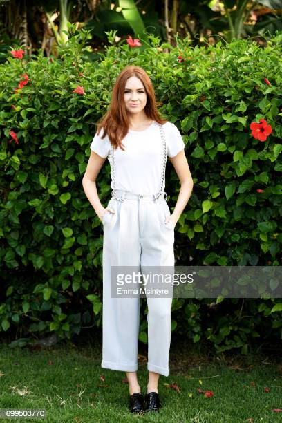 Karen Gillan recipient of the Rising Star Award attends 'Taste of Summer' during day one of the 2017 Maui Film Festival At Wailea on June 21 2017 in...