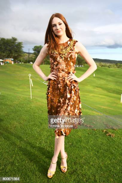 Karen Gillan recipient of the Rising Star Award attends the 'Taste of Wailea' on day four of the 2017 Maui Film Festival at Wailea on June 24 2017 in...