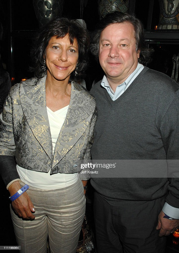 Karen Goodman and Kirk Simon during HBO Documentary 2007 Pre-Oscar Party at Social Hollywood in Los Angeles, California, United States.