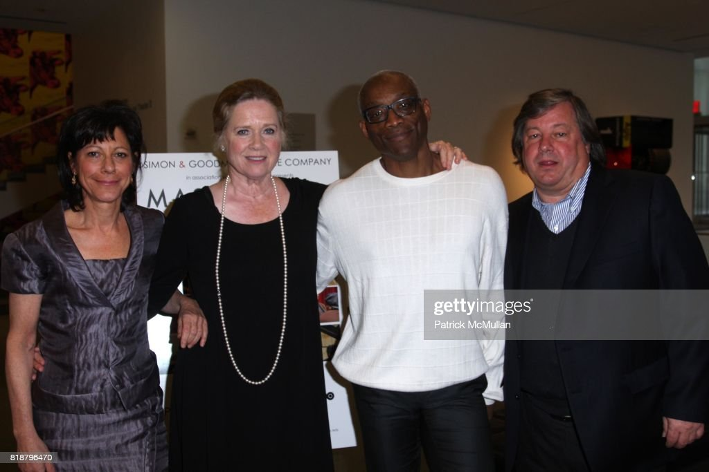 Karen Goodman, Liv Ullmann, Bill T. Jones and Kirk Simon attend SIMON AND GOODMAN PICTURE COMPANY and HBO DOCUMENTARY FILMS Celebrate a New Series: MASTERCLASS at Celeste Bartos Theatre on April 13, 2010 in New York City.