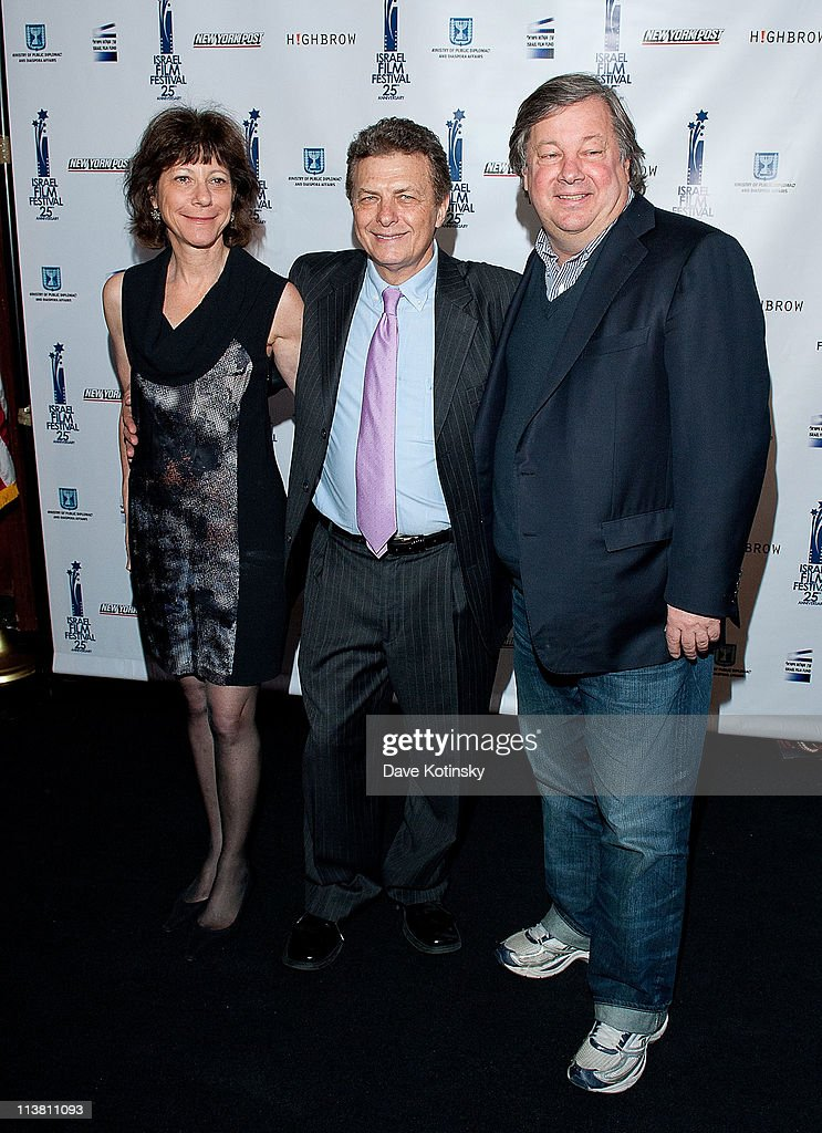 Karen Goodman, Meir Fenigstein and Kirk Simon attend the 25th Israel Film Festival at The Plaza Hotel on May 5, 2011 in New York City.