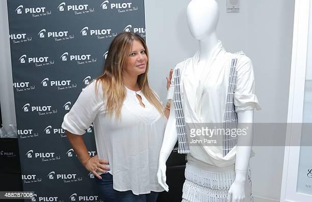 Karen Gravano attends GBK's New York Fashion Week Style Lounge 2015 Day 1 on September 14 2015 in New York City