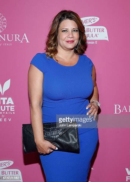 Karen Gravano attends OK Magazine's So Sexy NYC event at HAUS Nightclub on May 13 2015 in New York City