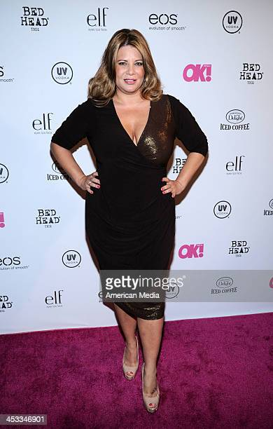 Karen Gravano attends OK Magazine's So Sexy Party on May 1 2013 in New York City