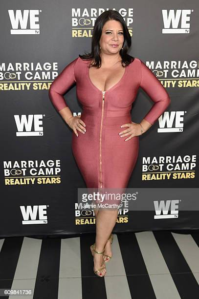 Karen Gravano attends The Season 6 Premiere of Marriage Boot Camp Reality Stars at Up Down on September 22 2016 in New York City