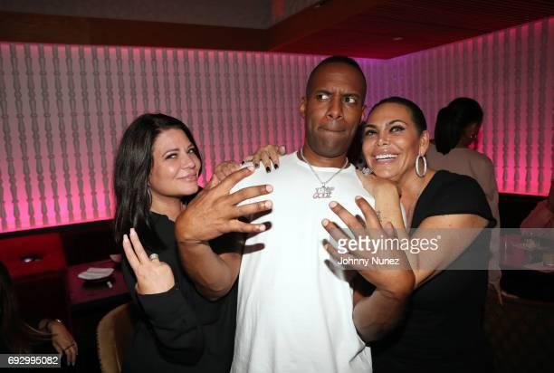 Karen Gravano DJ Whoo Kid and Renee Graziano attend James Cruz's Birthday Celebration at Megu New York on June 5 2017 in New York City