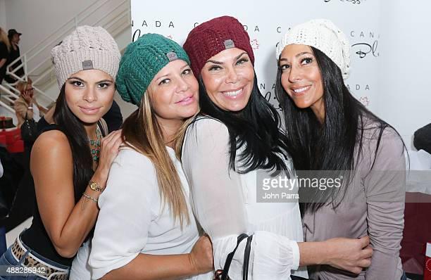 Karen GravanoMarissa JadeCarla Facciolo and Renee Graziano attend GBK's New York Fashion Week Style Lounge 2015 Day 1 on September 14 2015 in New...