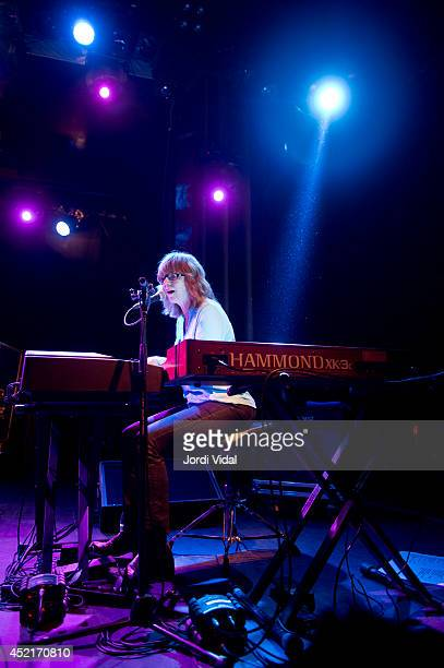 Karen Grotberg of The Jayhawks performs on stage at Sala Apolo on July 14 2014 in Barcelona Spain