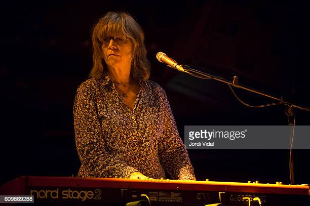 Karen Grotberg of The Jayhawks performs on stage at Sala Apolo on September 22 2016 in Barcelona Spain