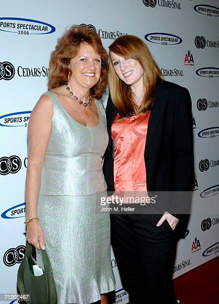 Karen Happer and Aubree Leigh Connors arrive at the CedarsSinai Medical Center's 21st Annuel Sports Spectacular at the Hyatt Regency Century Plaza...